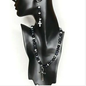 Jewelry - Sardonyx Necklace Set
